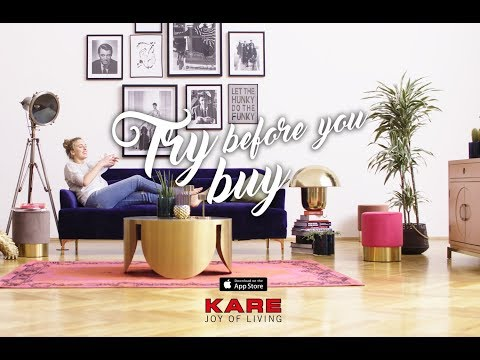 KARE Roomdesigner APP - Try before you buy