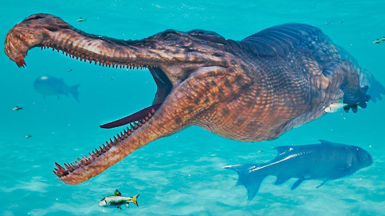 Download O Rei Sarcosuchus + Filhotes de Maiassauros Apetitosos!   The Beasts of 9500   (PT/BR)