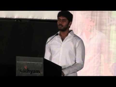 Hero Kathir at Madha Yaanai Koottam Audio Launch
