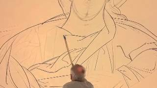 Holy Trinity Iconography Update: Must See Video! Live Capture of Writing of the Pantokrator Icon