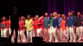 """""""Un, deux, trois"""" (Jean-Jacques Goldman), interprétée en concert par Tonalités le 29 mars 2015"""