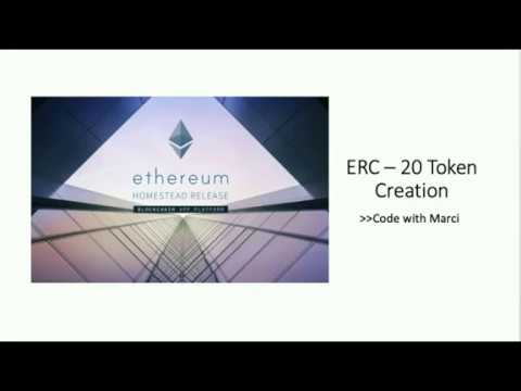 Make your own erc20 cryptocurrency tutorial