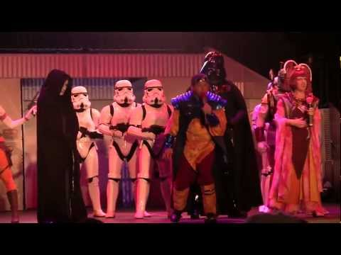 Dance-Off with the Star Wars Stars 2012 at Disney