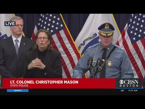 Christopher Mason Introduced As Next Head Of Massachusetts State Police
