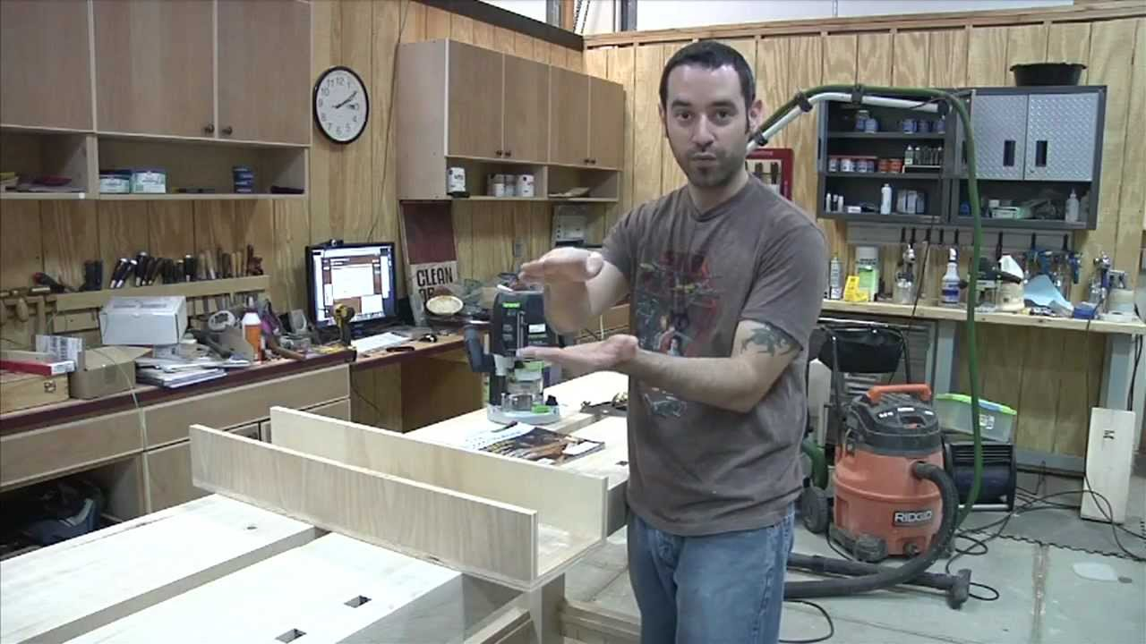 Flattening Workbenches And Wide Boards With A Router Youtube