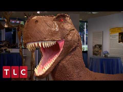 Making A Giant Dinosaur Wedding Cake | Cake Boss