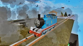 THOMAS AND FRIENDS Railway Slide Ride Roller Coaster Thomas Shark in Hurricane Thomas the Train
