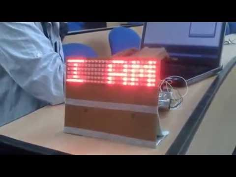 electronics project how to make led display board b tech projectselectronics project how to make led display board b tech projects final year projects youtube