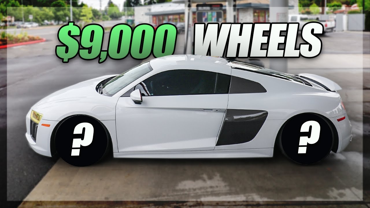 $9,000 Wheels for the Audi R8!