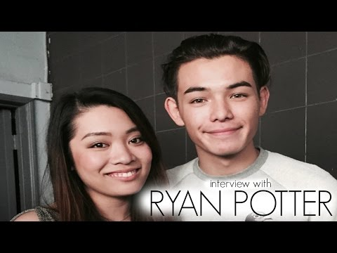 with Ryan Potter at Three Cities