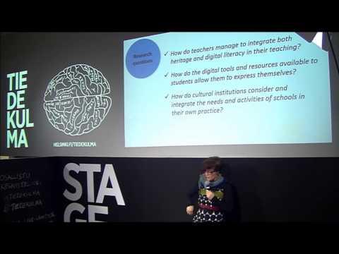 Inés Matres: Digital cultural knowledge in school education