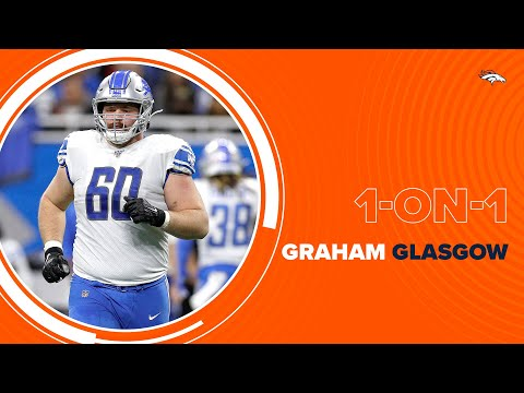 Graham Glasgow on why he signed with the Broncos: 'Electric' crowd and potential winning future