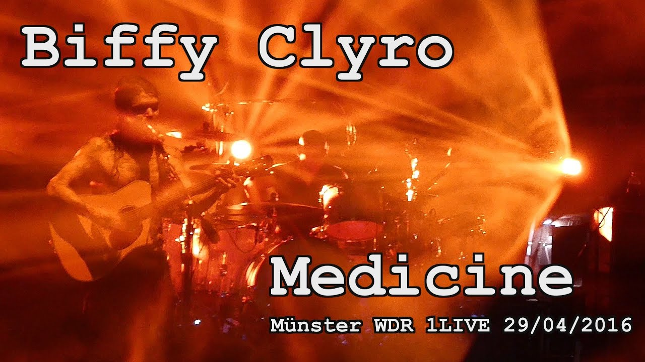 Biffy Clyro - Medicine (new song in good quality) live @ Münster Germany 29.04.2016 WDR 1Live