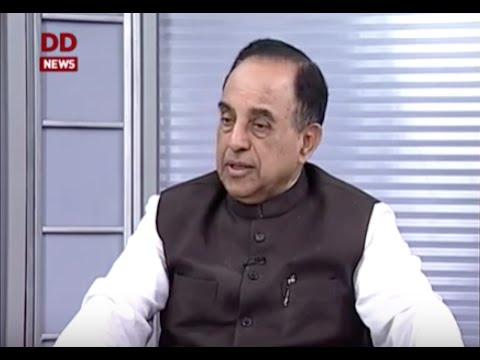 Dr Subramanian Swamy talks about National Herald on DD News 'Seedha Samvad  program'