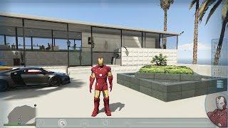 GTA 5 Mods ( Iron Man Mod ) Marvel Avengers Mod - GTA 5 Game Play