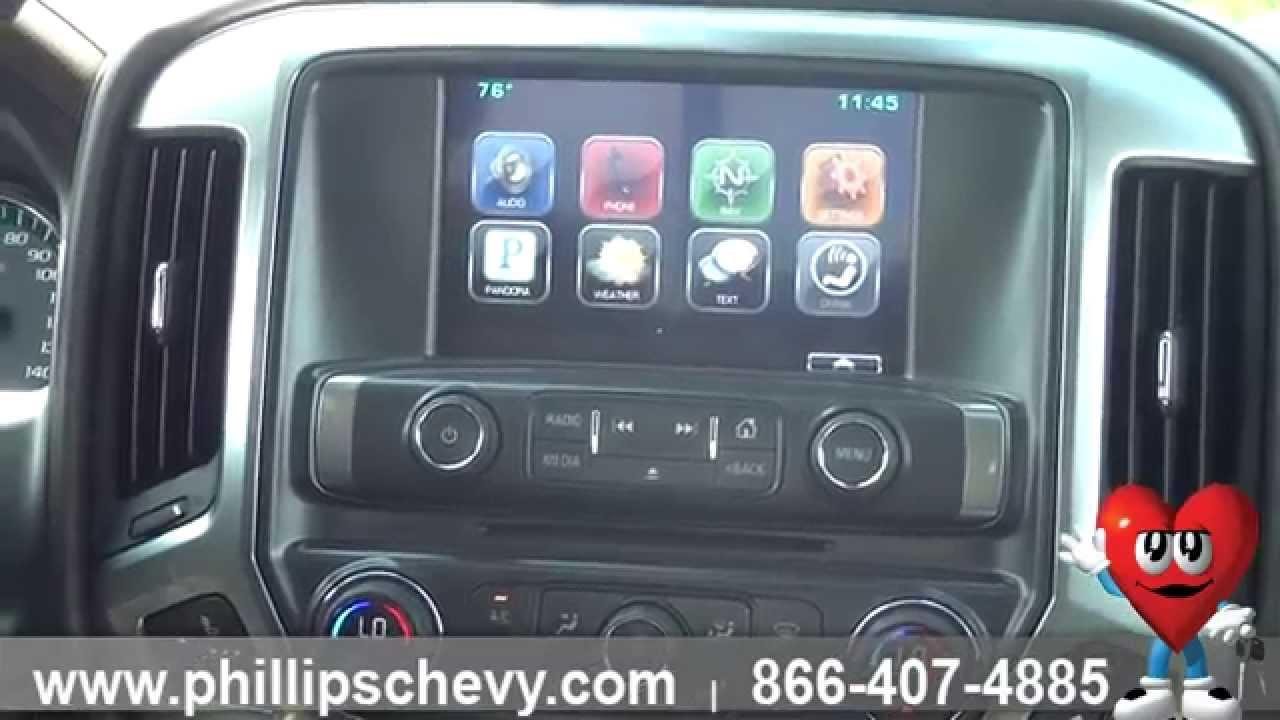 Phillips Chevrolet 2015 Chevy Silverado Ltz Interior Walkaround