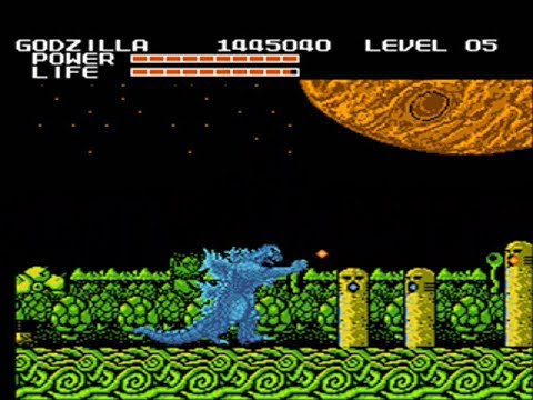 Godzilla - Nes - Monster Of Monsters ! - Full Playthrough - No Death