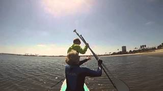 Occupational Therapy Stand Up Paddle Boarding in San Diego, Mission Bay