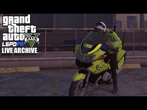 GTA 5 - LSPDFR(UK) - Live Archive - Bike Cop