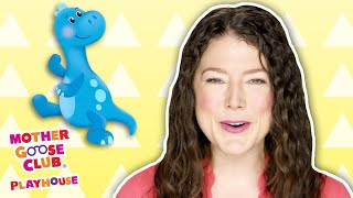 Ten Little Dinosaurs + More | Mother Goose Club Playhouse Songs & Rhymes