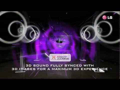 NEW LG Cinema 3D Surround Sound Home Theatre. 9.1 3D Sound Experience.