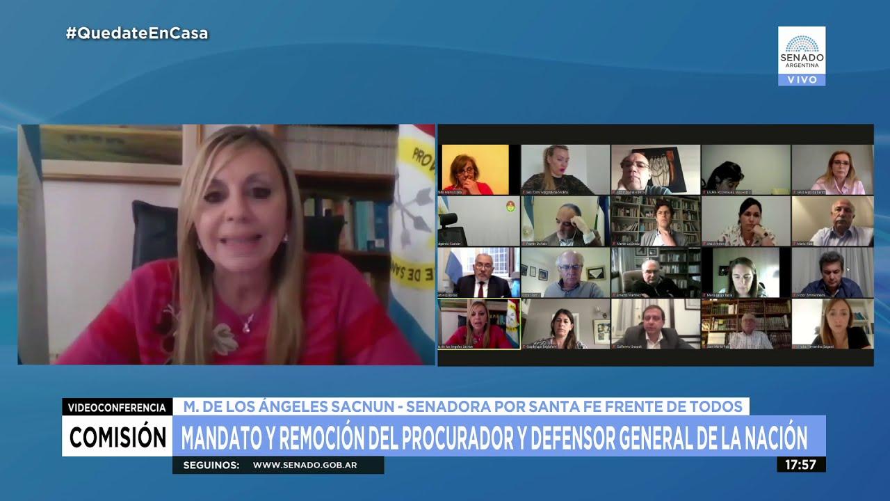 SDORA. MARÍA DE LOS ÁNGELES SACNUN - COMISIÓN DE JUSTICIA 23-10-20