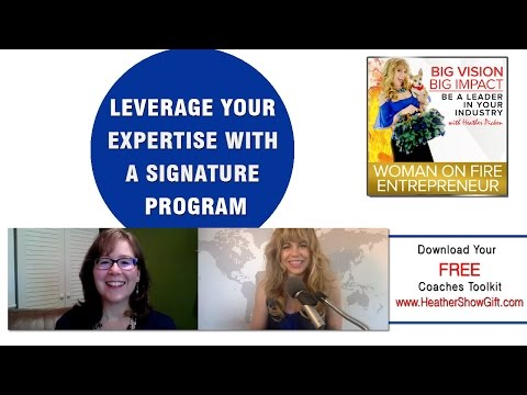 Episode #96 : Leverage your expertise with a signature program with Margie Beiswanger