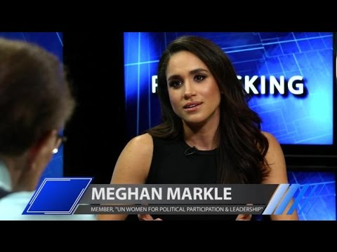 'Suits' Star Meghan Markle Discusses Her Advocacy for U.N. W