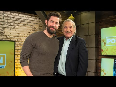 John Krasinski on directing his first horror film and working with wife Emily Blunt