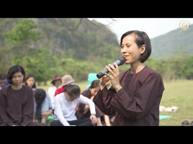 Chùa Hoằng Phúc | Khóa tu TỈNH THỨC lần 2 - Chia sẻ cảm xúc của khóa sinh Trần Thị Thanh Nhàn