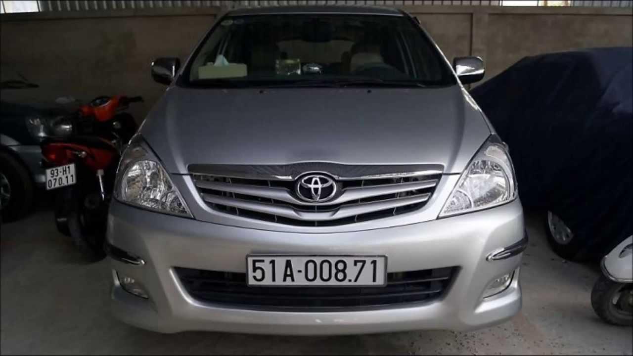 Xe cũ tốt nhất tầm giá 600 triệu đồng: Toyota Innova 2010.