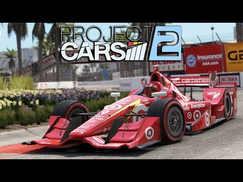 Project CARS 2 WIP | Dallara IR-12 Chevrolet (Road Course) @ Long Beach Street Circuit