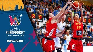 LIVE 🔴 - Spain v Ukraine - FIBA Women's EuroBasket 2019 - Qualifiers 2019