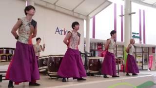 和太鼓グループ彩 Japanese Drum Group SAI 「いくぜ!青春応援歌」2016年7月17日 アリオ市原