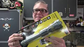 Stanley LED Flashlight with power supply