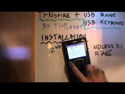 TI-Nspire + USB Mouse & Keyboard