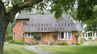 Riverside Lifestyle - Riverside Cottage near Winchester in Hampshire