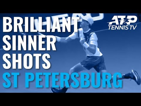 Brilliant Jannik Sinner Shots vs Kukushkin | St Petersburg 2019