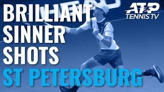 Brilliant Jannik Sinner Shots vs Kukushkin | St Petersburg 2019