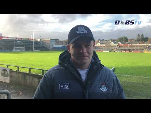 Dessie Farrell chats to DubsTV after Allianz League win over Galway