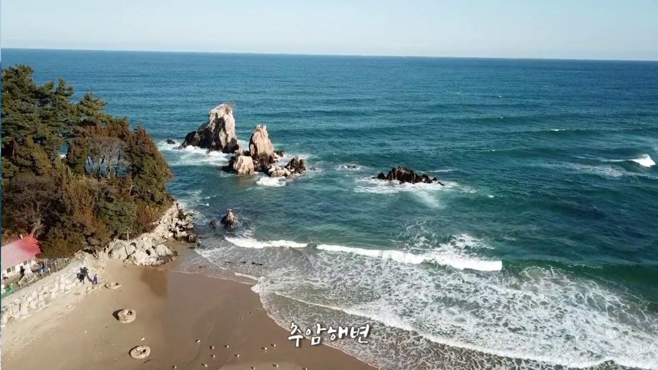 [해파랑길]32코스(2/2) 덕산해변입구 ~ 추암해변 2018. 03. 24