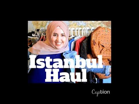 Istanbul Haul 2016 | Hijabflowers