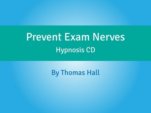 Prevent Exam Nerves - Hypnosis CD - By Thomas Hall