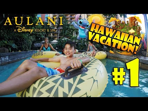 WERE GOING TO HAWAII!! Disneys Aulani Resort Villa Room Tour! #1