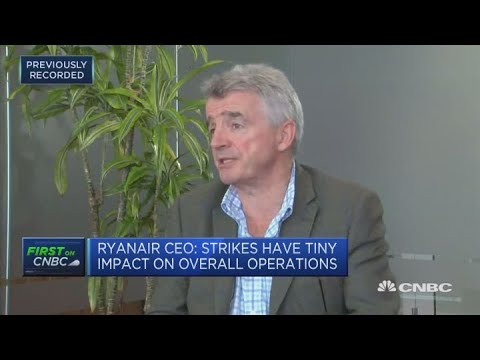 Strikes an 'inevitable' problem, Ryanair CEO says   Street Signs Europe