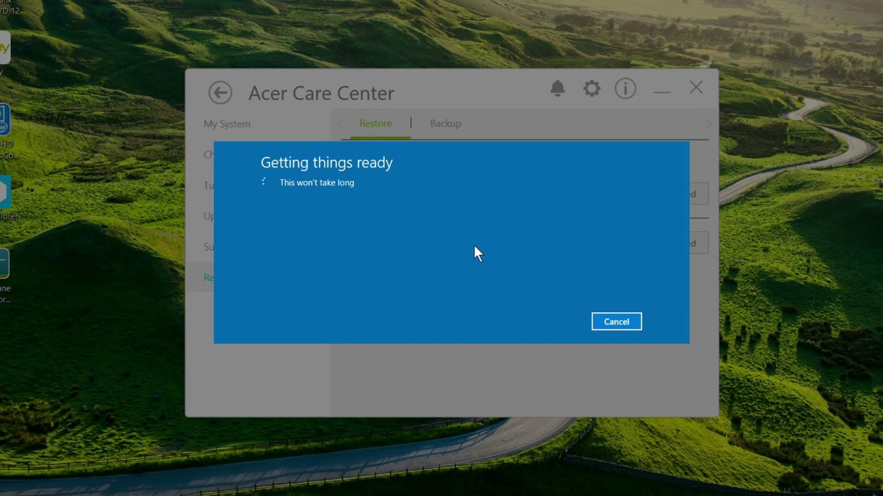 Windows 10 - Reset Your PC to Factory Settings Acer Care Center