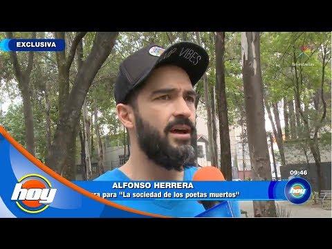 Alfonso Herrera regresa con obra de teatro | Hoy