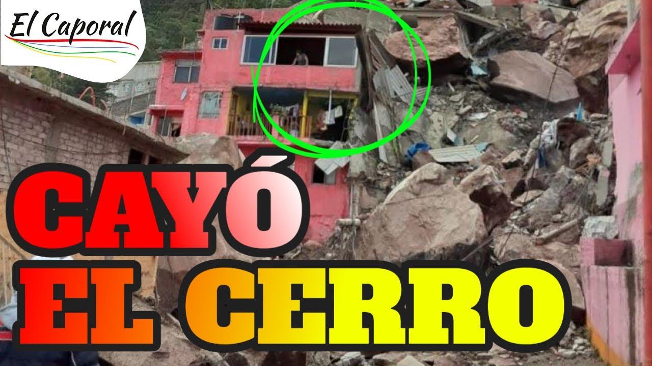 🔴 Todo Esto Pasó Tras DERRUMBE En El Cerro del Chiquihuite, En Tlalnepantla  - YouTube