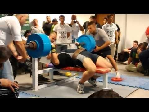 Eduardo Alcaraz 242,5kgs RAW Nacional Fuerza en Banco 2014