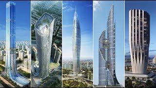 أطول الأبراج المستقبلية في العراق | منها برج يفوق ارتفاعه 1000 متر....!!!!